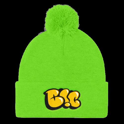 1800d71f7f8 B!C Throwie – Pom Pom Knit Cap
